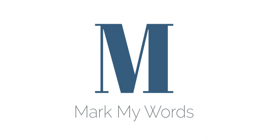 Mark My Words - built with Laravel and Vue.js